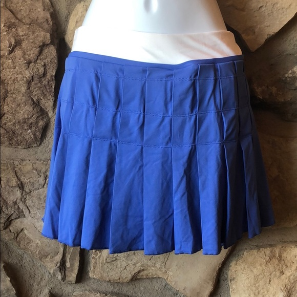 NEW Nike Sharapova DriFIT Pleated skirt skort L
